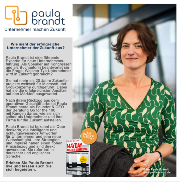 Download for free: Speaker Flyer Paula Brandt